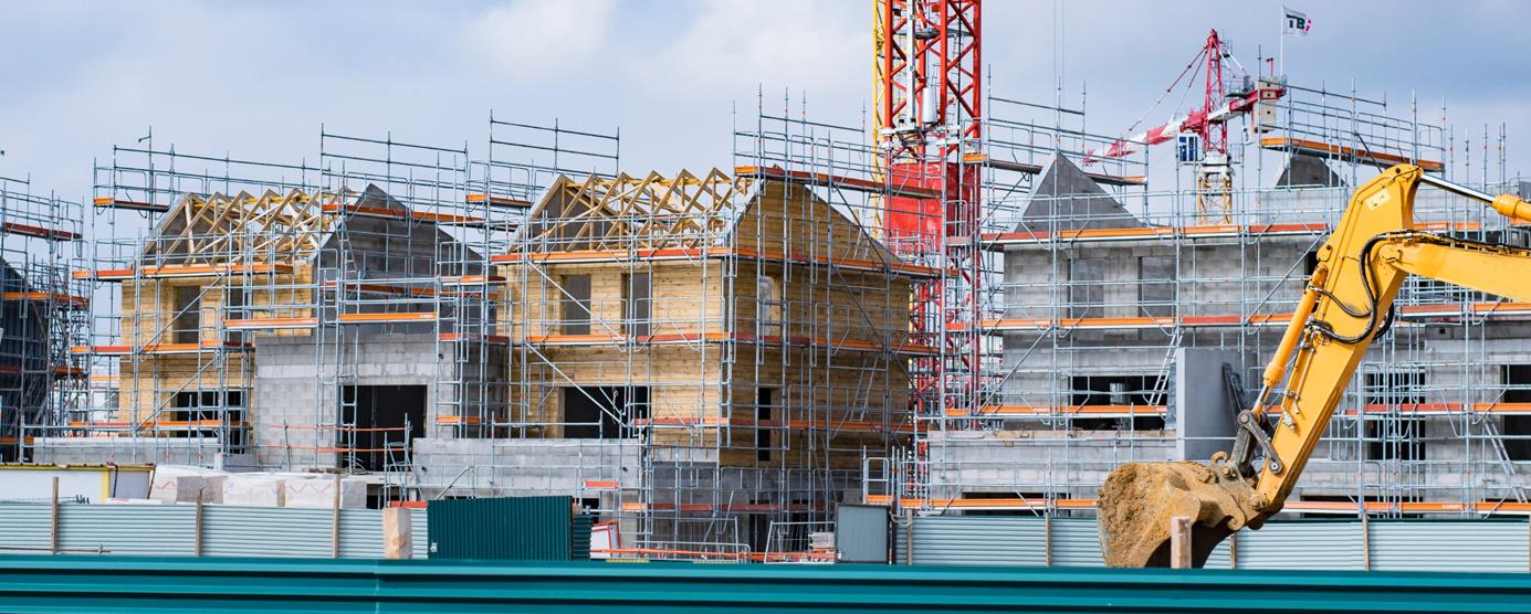 Programme de logements neufs en phase chantier