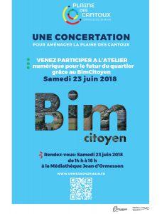 Affiche : Atelier BIM Citoyen à Ormesson