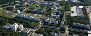 Photographie aérienne de la Cité Descartes à Champs-sur-Marne et Noisy-le-Grand