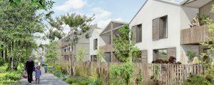 Modélisation du programme de logements (LOT CHE2B) ZAc du Chène Saint-Fiacre (Zéro Carbone)