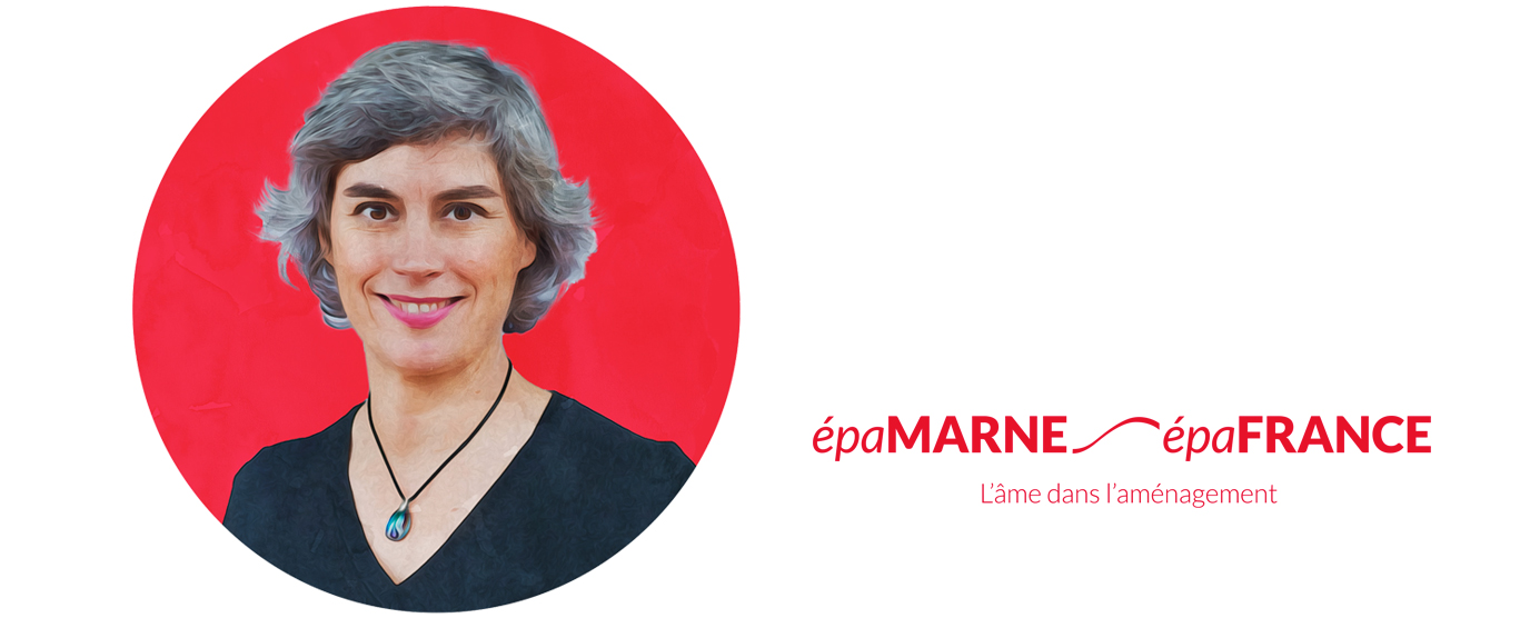 Portrait de Marion Le Paul, directrice communication EPAMARNE/EPAFRANCE