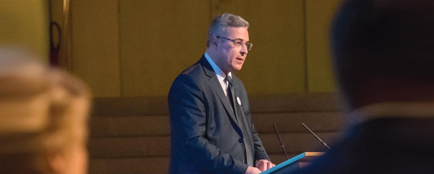 Portrait : Yann Dubosc, président du conseil d'administration EPAMARNE