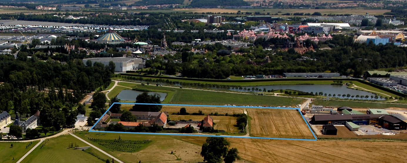 Lancement de la consultation pour l'opération d'ensemble dite de la Ferme du Château