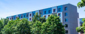 Crédit Agricole Immobilier a livré la résidence Le Luzard II, pour le compte d'EFIDIS et de sa marque de logements étudiants STUDEFI. L'opération compte 230 studios