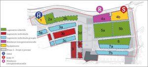 L'aménagement de la ZAC des Coteaux de la Marne prévoit un programme global de construction portant sur 8 000 m² de surface de plancher (SDP) d'activités et de services et sur 593 logements, représentant 40 500 m² de SDP