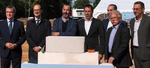 Pose de la première pierre du programme de bureaux et activités Business Park ZAC du Prieuré à Serris