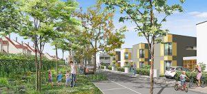 Nouveau programme pour Le Sycomore Le jardin des Cerisiers : un procédé constructif bois performant
