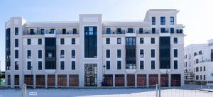 Quartier des Studios - Programme de logements La Marnière donnant sur la Place des Dariolles