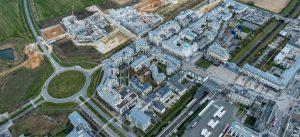 Livraison ZAC du centre urbain du Val d'Europe - ZAC des Studios et des Congrès (Mars 2017)
