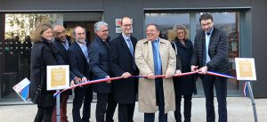 Inauguration de la résidence étudiante BBCA à Noisiel