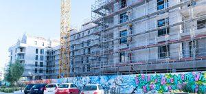 ecoquartier de montevrain : chantier du programme de logements coeur du mont (juillet 2018)