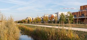 ecoquartier le sycomore : le parc du genitoy - logements