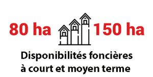 Disponibilités foncières à court et moyen terme à Marne-la-Vallée