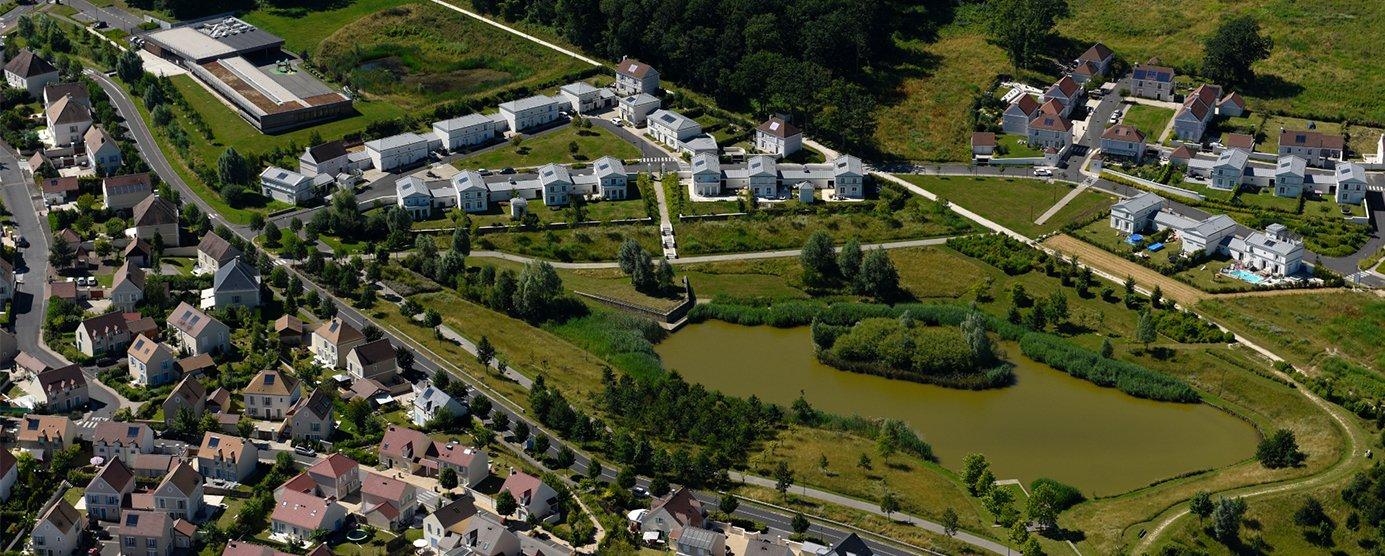 Le quartier des bois de Magny-le-Hongre.