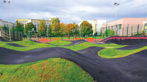 Un exemple de PumpTrack